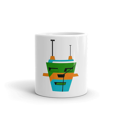 3 Colors Tripod Mug