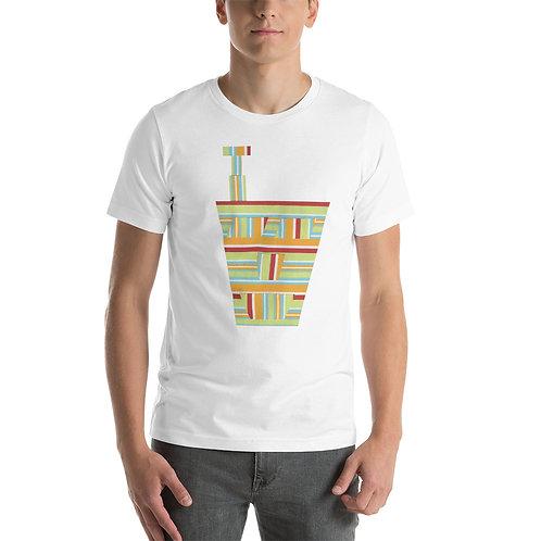 Striped Engineering Short-Sleeve Unisex T-Shirt