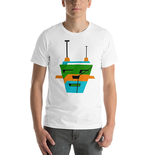 3 Colors Tripod Short-Sleeve Unisex T-Shirt