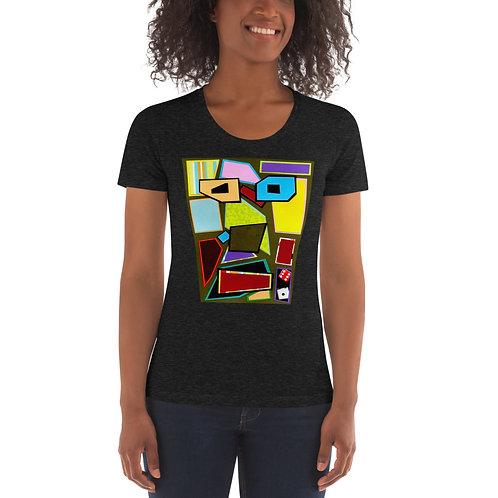 Scattered Mess Women's Crew Neck T-shirt