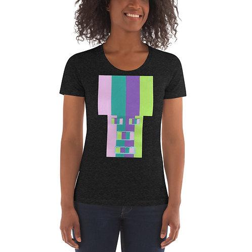 Rainrow Fro Women's Crew Neck T-shirt