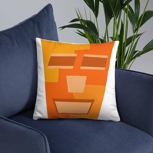 Orange Tripod Basic Pillow