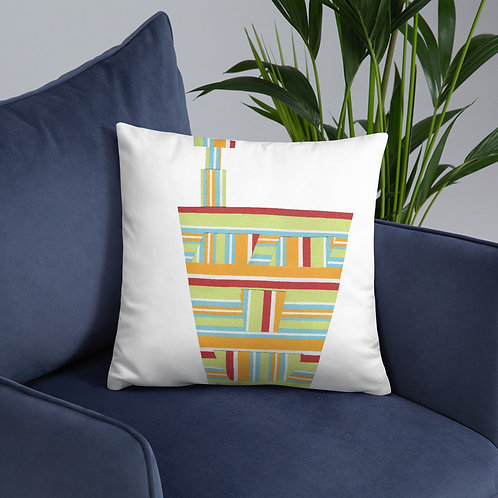 Striped Engineering Basic Pillow