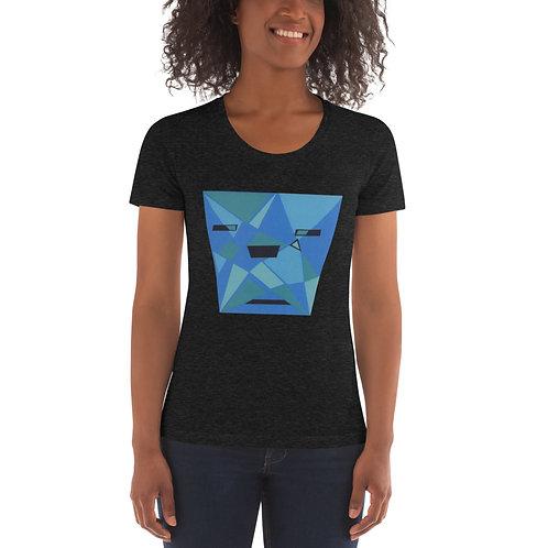 Blue Shades Women's Crew Neck T-shirt