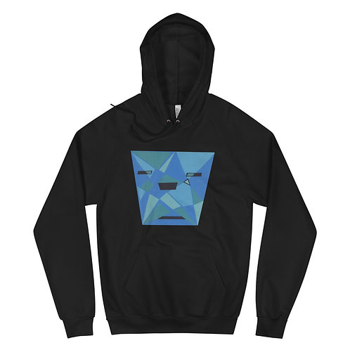 Blue Shades - Unisex Fleece Hoodie
