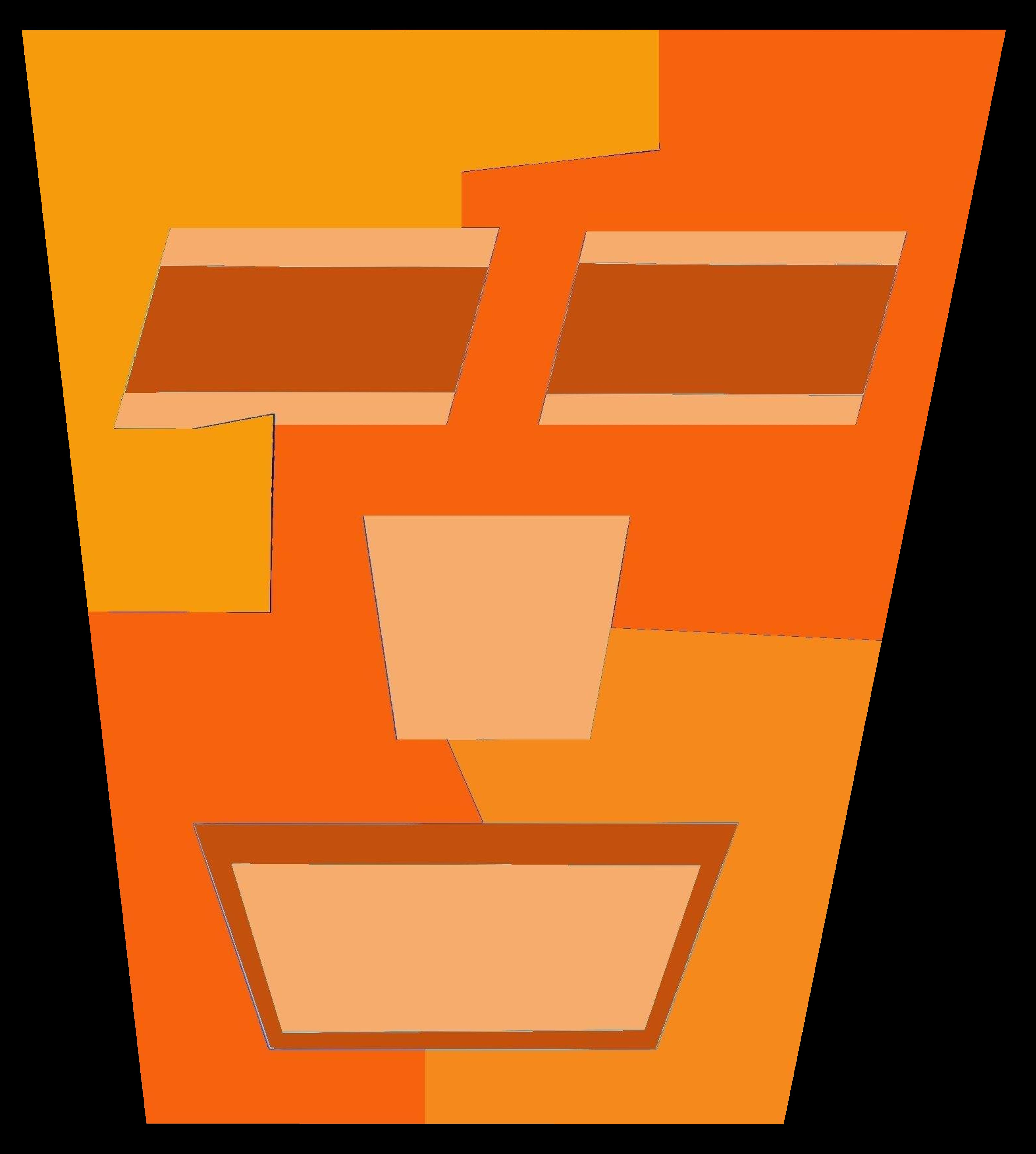 Orange Tripod