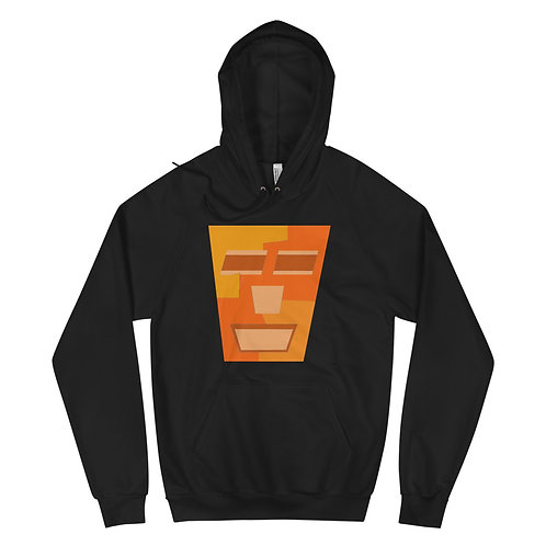 Orange Tripod - Unisex Fleece Hoodie