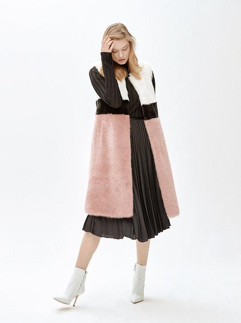 BEYOND LUNGO_pink vest