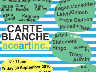 Excerpt of CPA [Consistent Partial Attention] at Ace Art Inc's Carte Blanche September 30, 8:30p
