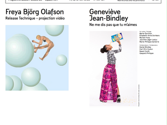 Upcoming Screening in Montréal at Tangente! February 14 - 17th on a program with Geneviève Jean-Bind