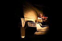 Kristjanna on the boat
