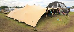 Festival Stretch Tent- Deerstock