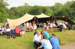 The Bull at Hinton- Pub Stretch Tent