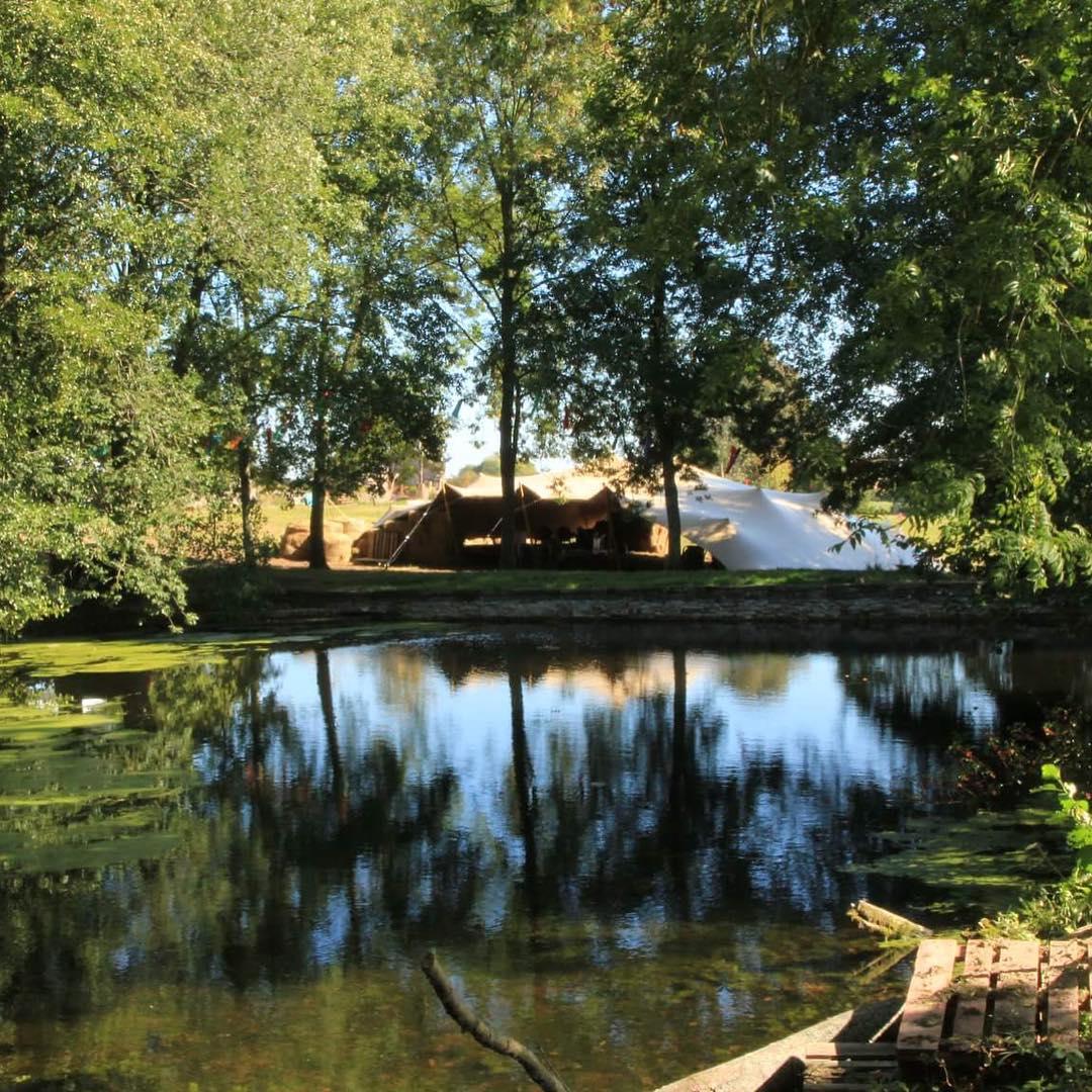 Lake view at Three Pools