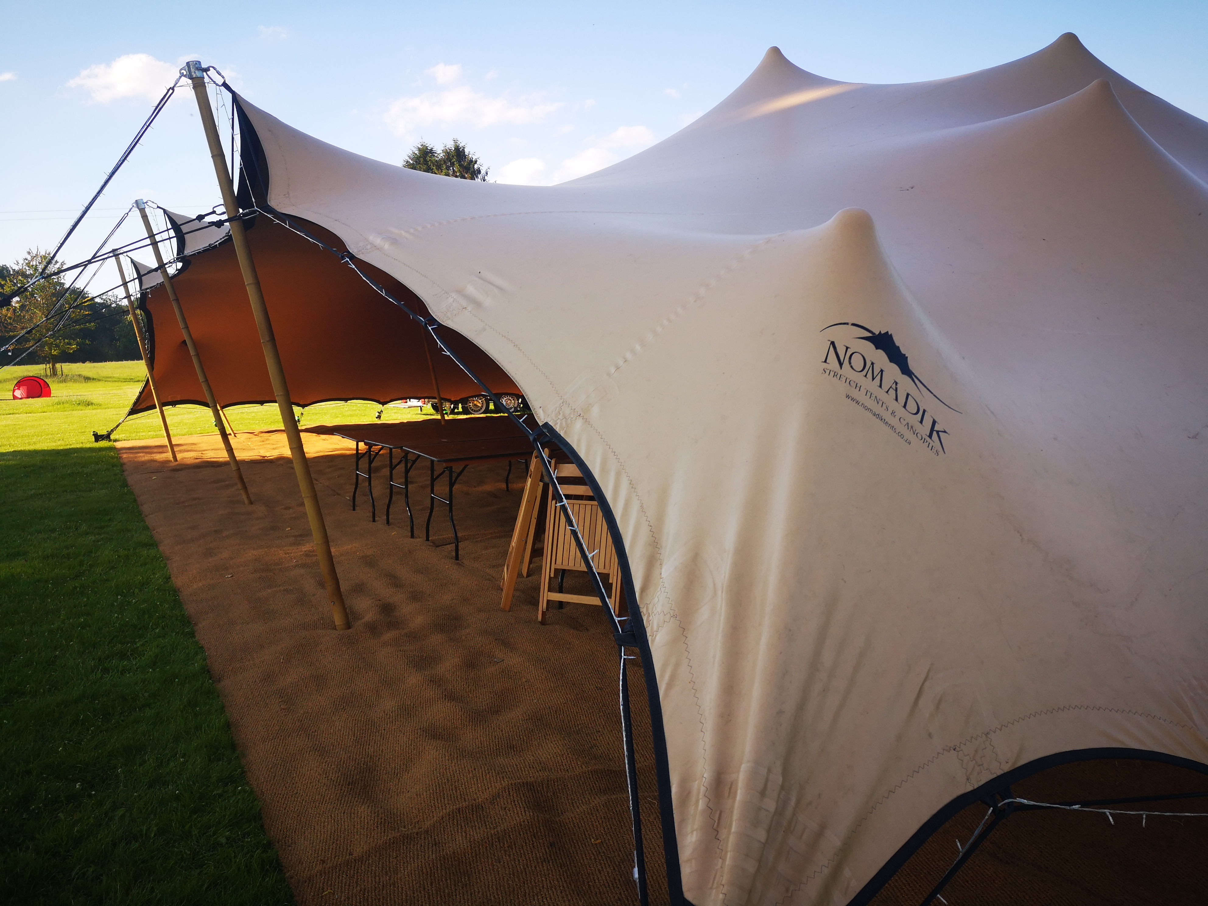 Stretch Tent Frontage
