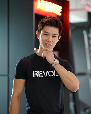 revolt gym singapore trainer daniel