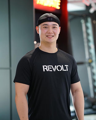 revolt gym singapore trainer liam