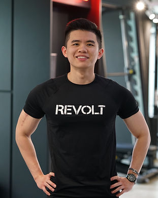 revolt gym singapore trainer henry