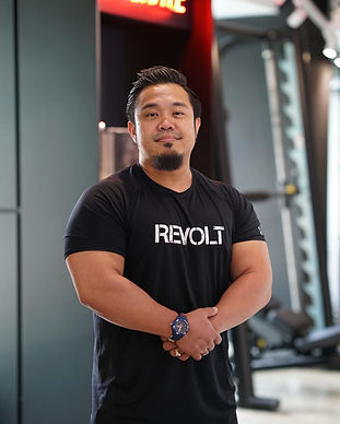 revolt gym singapore trainer hafiz
