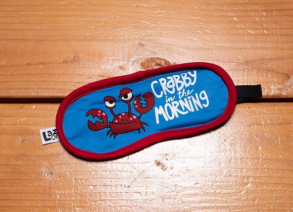 Crabby Sleep Mask