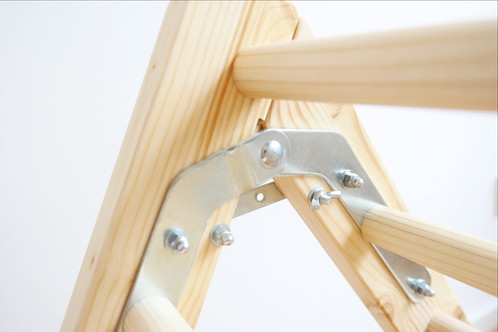 Klettergerüst Pikler : Set: klettermax klappbar & rutsche