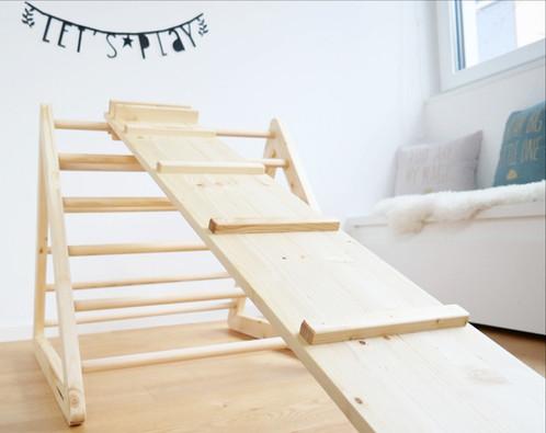 Klettergerüst Pikler : Set: klettermax standard & rutsche