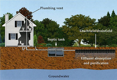 Basic septic system