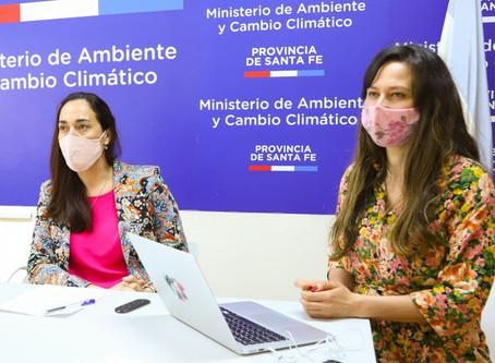 Ministerio de Ambiente y Cambio Climático participó en una capacitación sobre movilidad sustentable