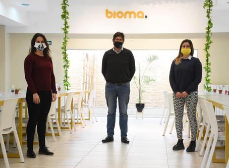 #Funes Bioma Espacio de Coworking: el lugar ideal para que puedas trabajar, interactuar y conectar
