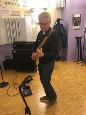 Patrick guitariste rythmique