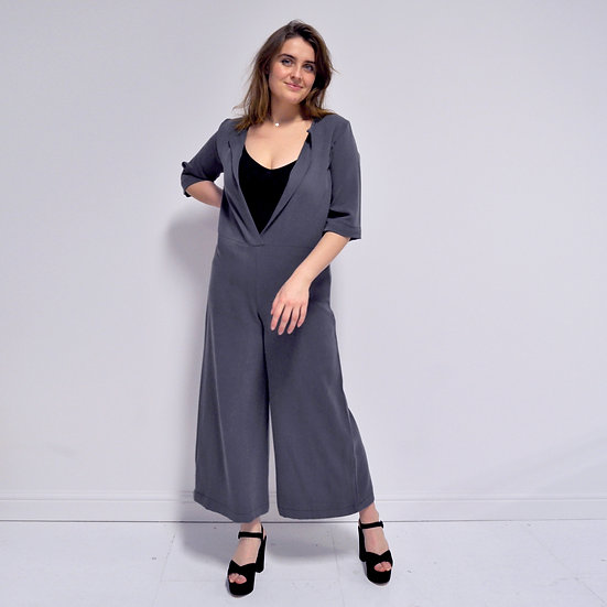 Wide Leg Overalls - Flint (Ready to Dispatch)