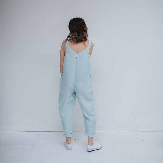 The Cocoon Jumpsuit - Mermaid (Ready to Dispatch)