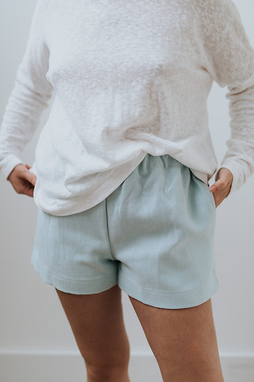 The Cocoon Shorts - Mermaid