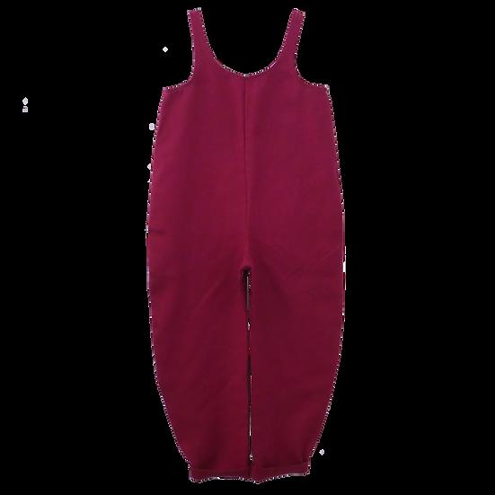 The Cocoon Jumpsuit -Cranberry