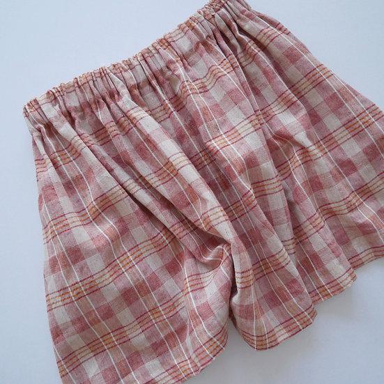 The Mini Skirt - Peach (Ready to Dispatch)