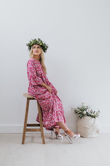 PRE-ORDER The Ruffle Maxi Dress - Liberty Floral