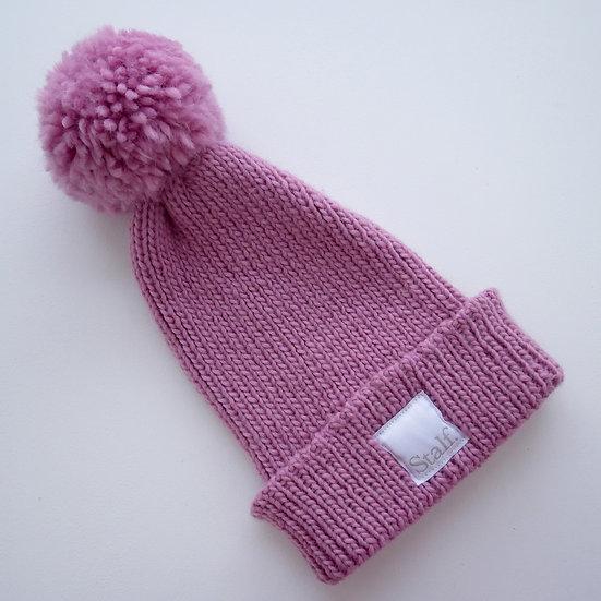 Wool Bobble Hat - Cupcake