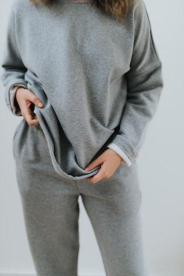 The Sweatshirt - Grey Marl
