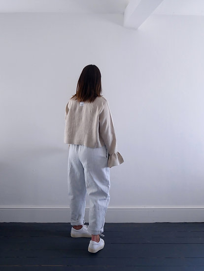 The Cocoon Trousers - Sky