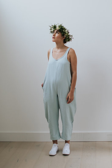 The Cocoon Jumpsuit- Mermaid