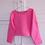 Thumbnail: The Cropped Sweatshirt - Bubblegum