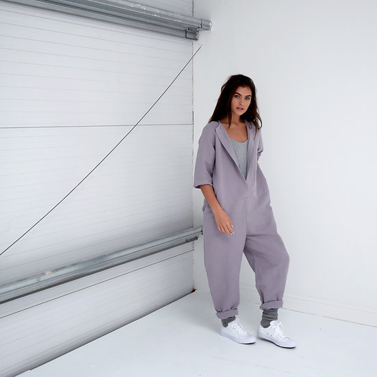 Overalls- Parma Violet (Ready to Dispatch)