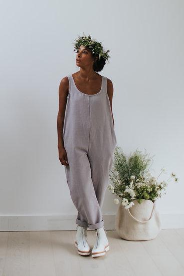 The Cocoon Jumpsuit - Parma Violet