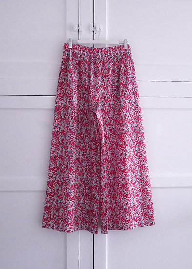 The Wide Trousers - Liberty Floral