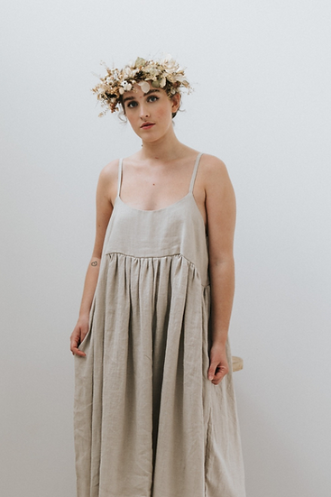 The Cami Dress - Fawn (Ready to Dispatch)