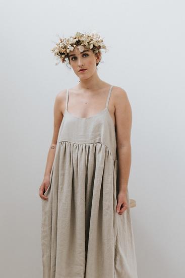 The Cami Dress - Fawn