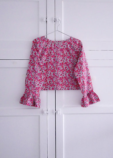 The Flutter Top - Liberty Floral