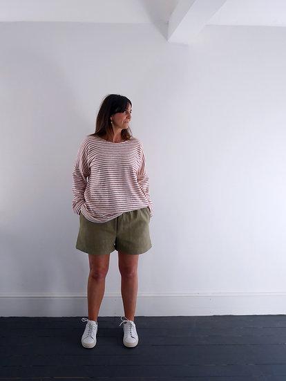 The Cocoon Shorts - Crocodile