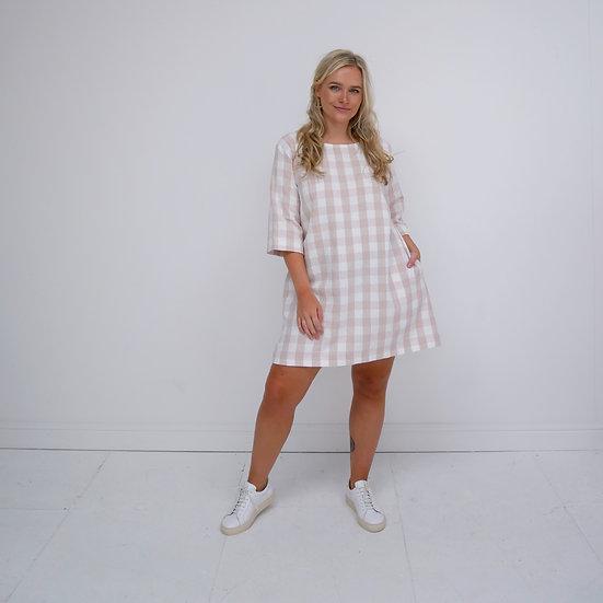 Simple Dress - Battenberg (Ready to Dispatch)