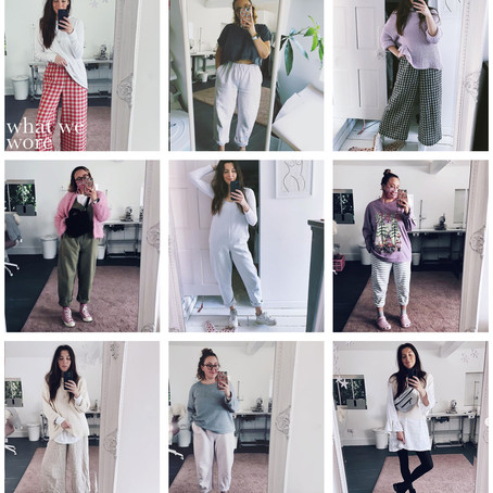 What We Wore... March 2020!